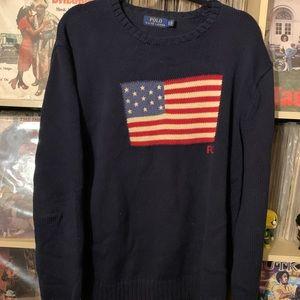 XL Polo Ralph Lauren American Flag Sweater